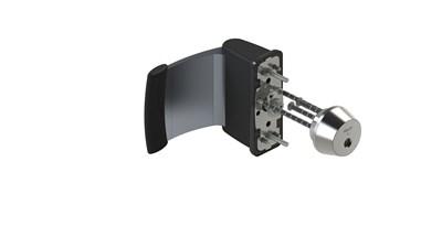 Cylinder and push pad CY077U