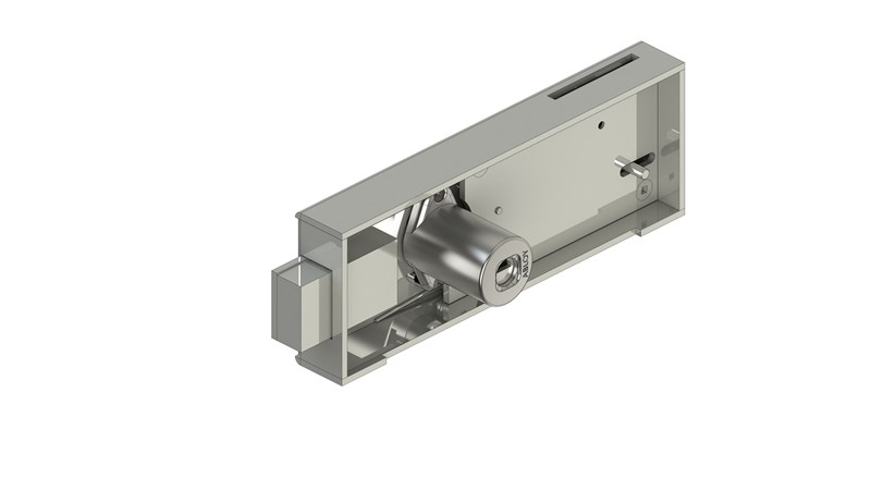 Coin operated lock SC411B