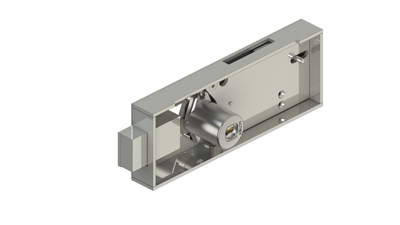 Coin operated lock SC412B