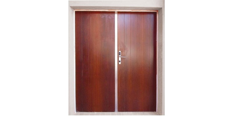 S1 double armoured door