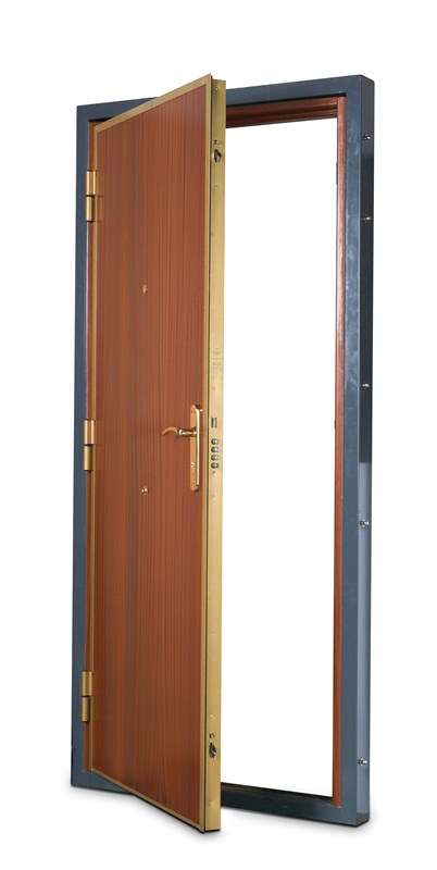 S2 automatic armoured door
